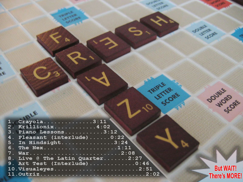 Crazy Fresh - Scrabble album cover