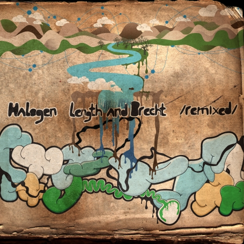 Halogen - Length and Brecht (Remixed) album cover