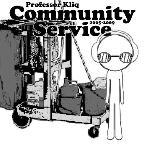 Professor Kliq - Community Service album cover