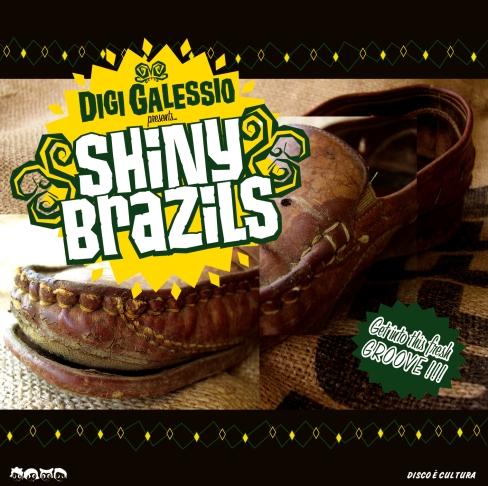 Digi Galessio - Shiny Brazils album cover
