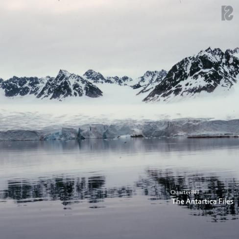 QuarterBIT - The Antartica Files album cover