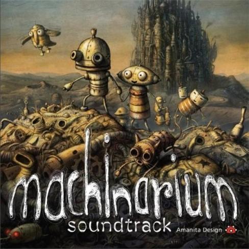 Machinarium Soundtrack album cover